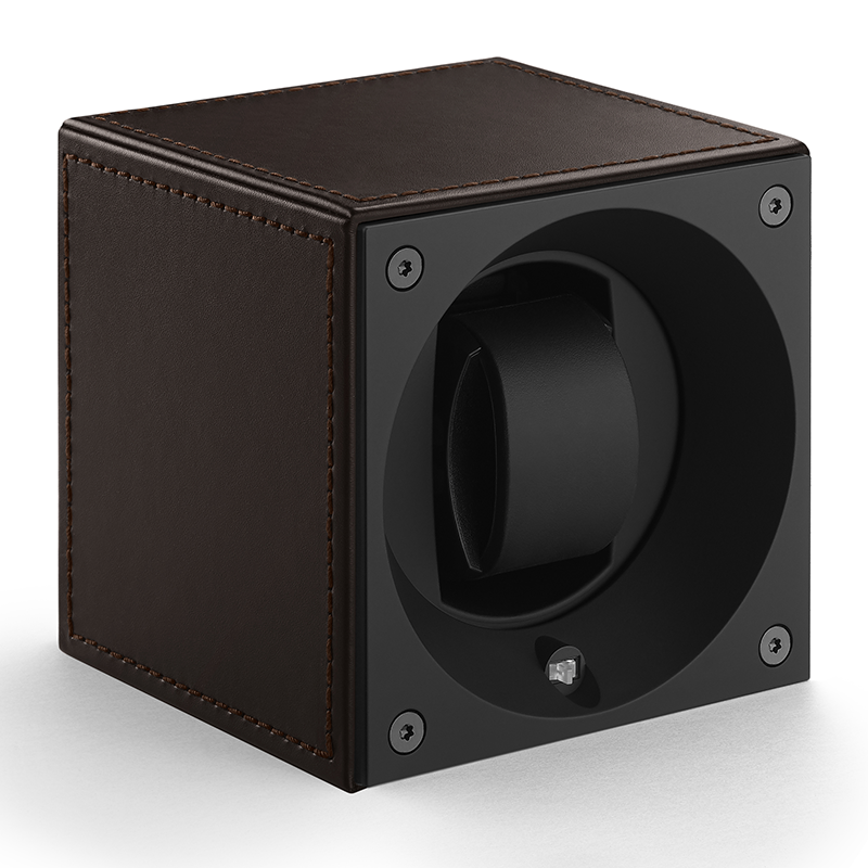 MASTERBOX Leather - Brown Leather & Brown Stitches