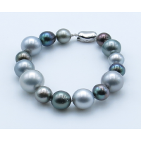 Fancy Tahitian Pearls Bracelet
