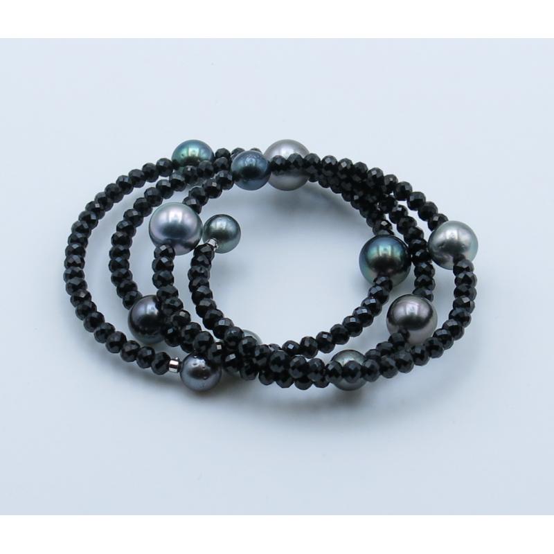 Fancy Tahitian Pearls Bracelet