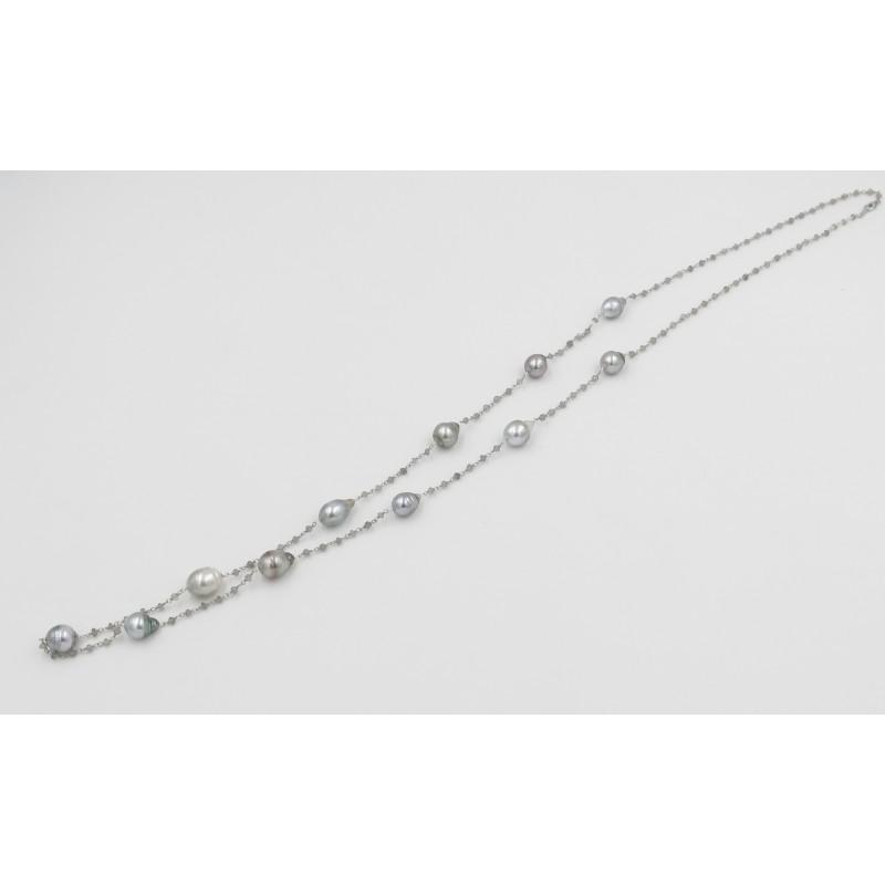 Vintage Tahitian Pearls Necklace