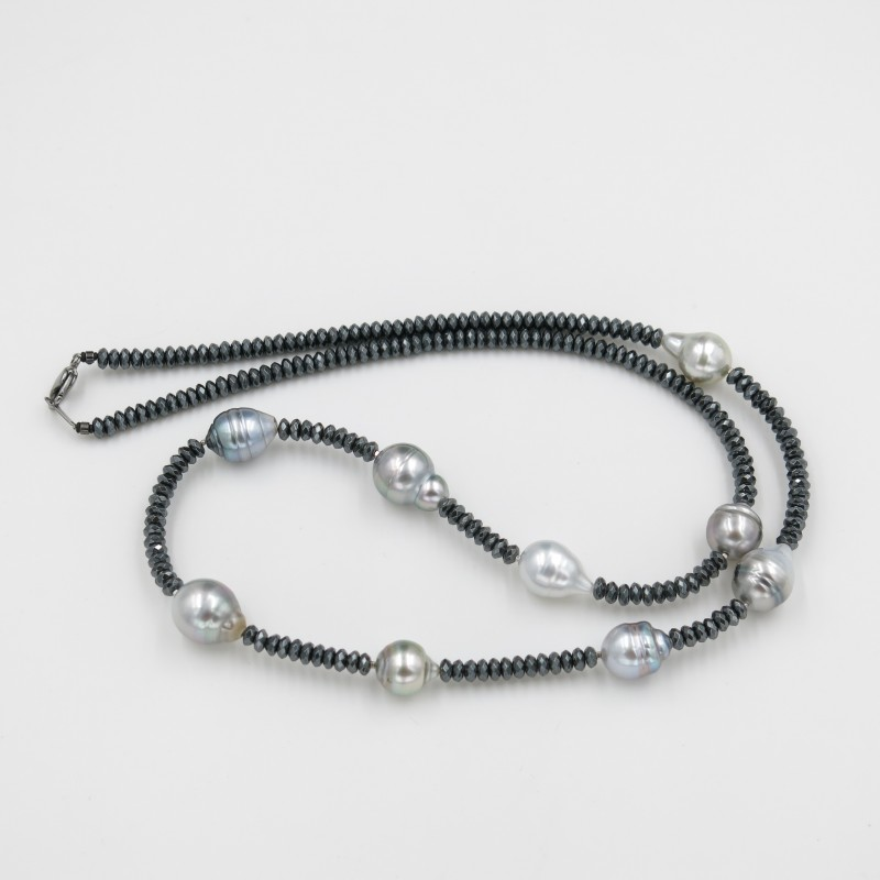 Fancy Tahitian Pearls Necklace