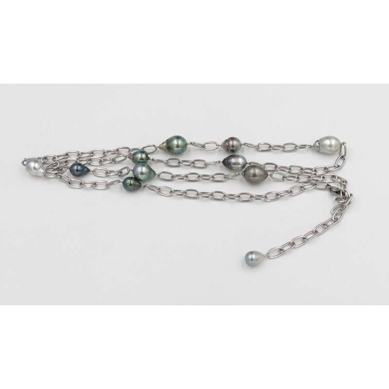 Stylish Tahitian Pearls Necklace