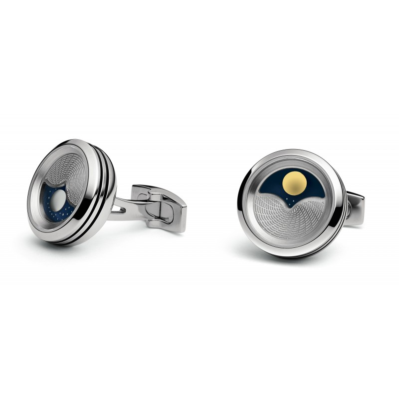 Planet- Stainless Steel Rhodium plated