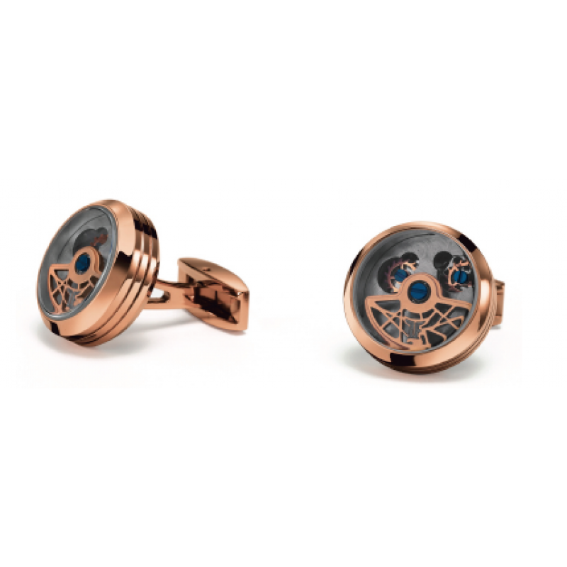 Double Tourbillon - Stainless Steel Rose Gold plated
