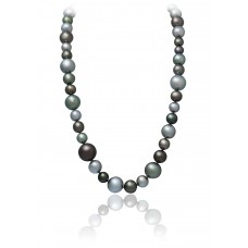 Fancy Tahitian Multicolor Pearls Necklace