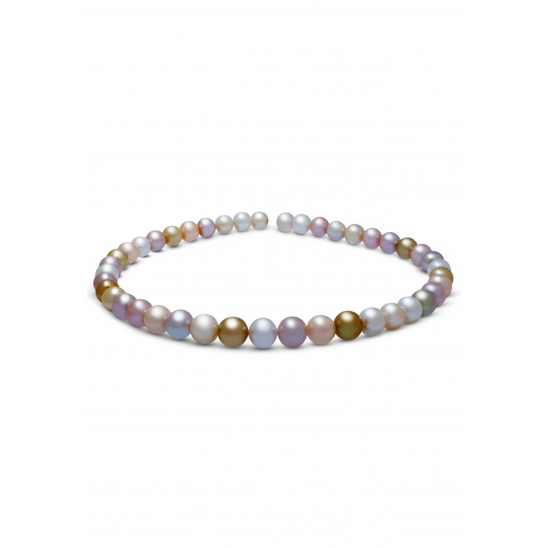 Lovely Multicolor Pearls Necklace