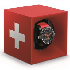 STARTBOX - Red SwissCross Soft Touch